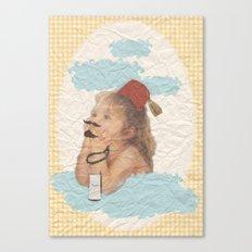 Külhan bebeği Canvas Print