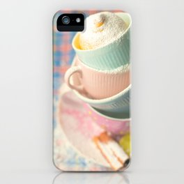 Teacup tower iPhone Case