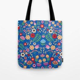 Folk Girl Tote Bag