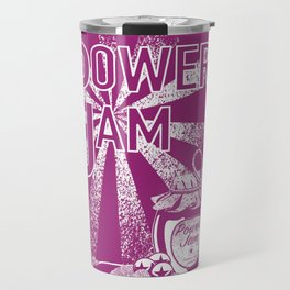 Power Jam graphic Travel Mug