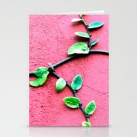 plant Stationery Cards featuring plant by Baptiste Riethmann