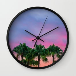 My Kind Of Purpule Wall Clock