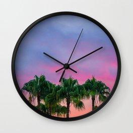 My Kind Of Purpule Wall Clock