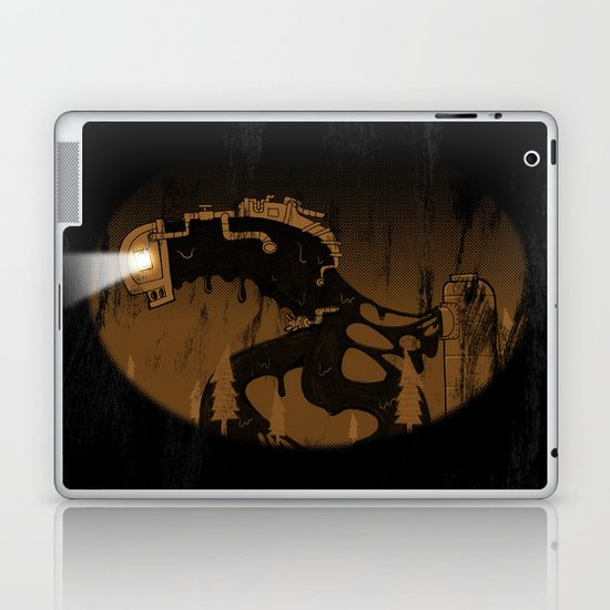 oil monster Laptop & iPad Skin