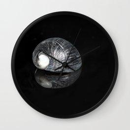 """Reflections"" -  Snail Shell Wall Clock"