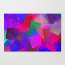 Weather in april ... Canvas Print