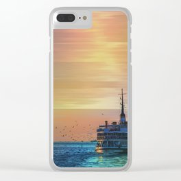 sunset ll Clear iPhone Case