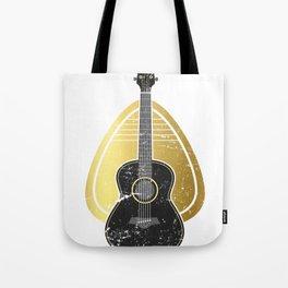 Mediator Bass Guitar Tote Bag