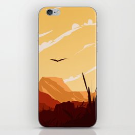 West Texas Landscape iPhone Skin