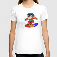 snowboarding T-shirts featuring Winter Sports: Snowboarding by Alapapaju