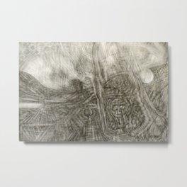 Turmoil Metal Print