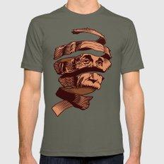 E=M.C. Escher Mens Fitted Tee Lieutenant LARGE