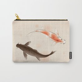 Yin Yang Koi fishes 001 Carry-All Pouch
