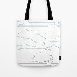 Landsacpe Tote Bag