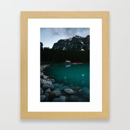 Wade into the Waters Framed Art Print
