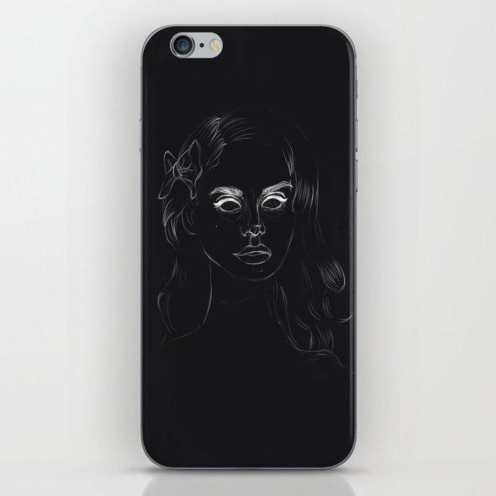 Negative Lana iPhone Skin