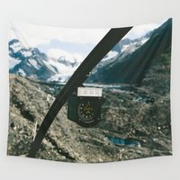 alaska Wall Tapestries featuring Alaska Helicopter by Andy Barron