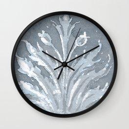 Wallpapaer Blue Wall Clock