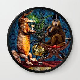 The Curiosity Shop Monkey Business Wall Clock