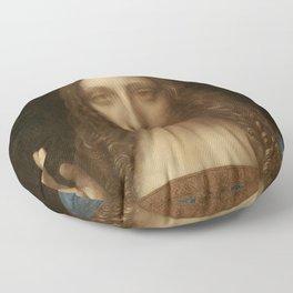 Price Slashed on 450M Leonardo da Vinci Salvator Mundi Floor Pillow
