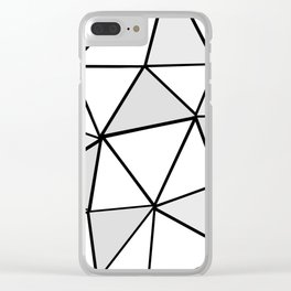 origami Clear iPhone Case