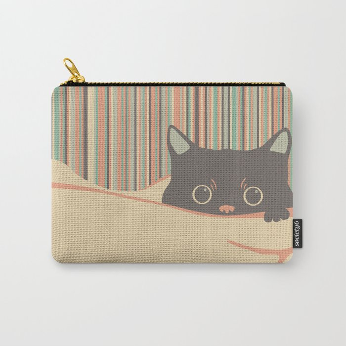 Kitty in the blanket Carry-All Pouch