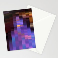 Pixelated  Stationery Cards