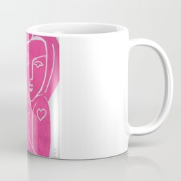 Pretty in PINK TATTOO - Painting by Erod Coffee Mug