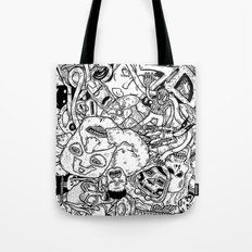 Mutant Pile-Up Tote Bag