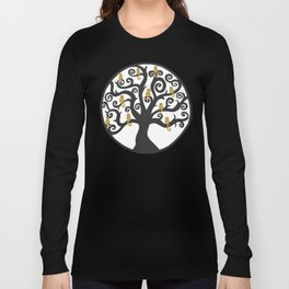 Cat Tree of Life Long Sleeve T-shirt