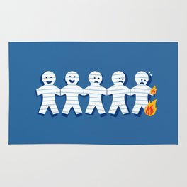 On Fire Rug
