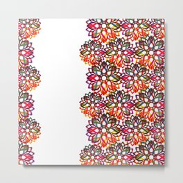 Floral festivities 1 Metal Print