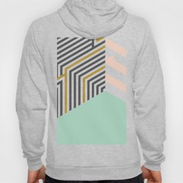 Mint&Gold Room #society6 #decor #buyart Hoody