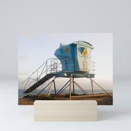 Malibu California Lifeguard Tower Mini Art Print