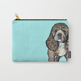 Lego the Cocker Spaniel Carry-All Pouch