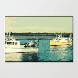 Chatham Boats Canvas Print