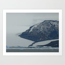 Glaciers, Antarctica 2006 Art Print