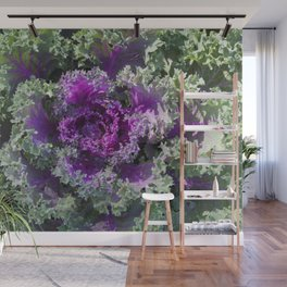 Flowering Cabbage Wall Mural