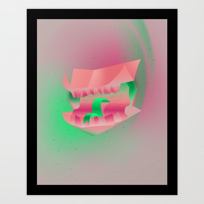 Howler Art Print