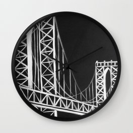 No. 59 Brooklyn Bridge  Wall Clock