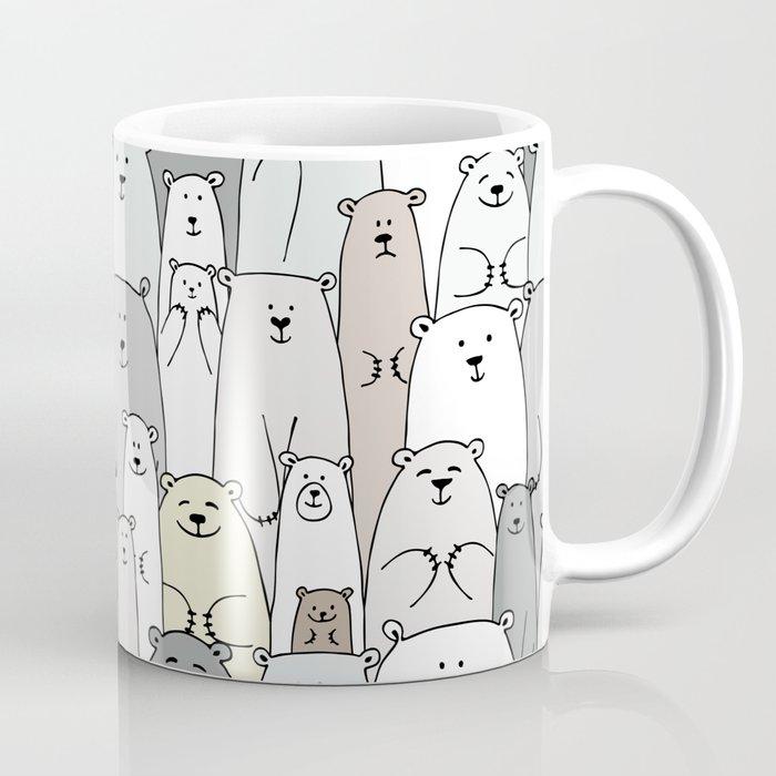 Bear family cartoon Coffee Mug