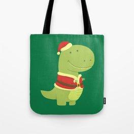 SanT-Rex Tote Bag