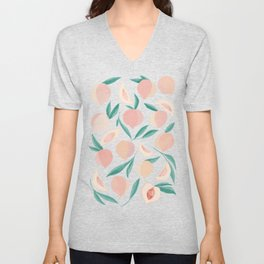 Peaches Unisex V-Neck