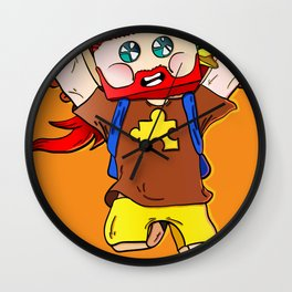 Getting jiggy with it - Minecraft Avatar Wall Clock