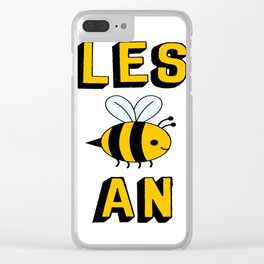 les bee an Clear iPhone Case