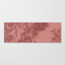 Branches two Yoga mat Canvas Print