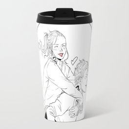 Clary & Jace Travel Mug