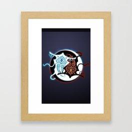Rin Vang (Raava x Vaatu - Yin Yang) Framed Art Print