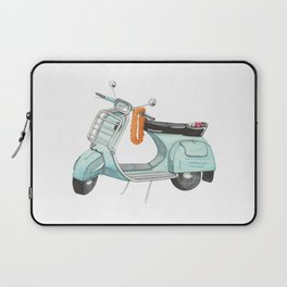Watercolour | Bali Scooter Laptop Sleeve