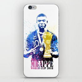 France world cup 2018 m06 iPhone Skin